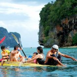 John Gray Sea Canoe trip by Namloo Divers Phuket