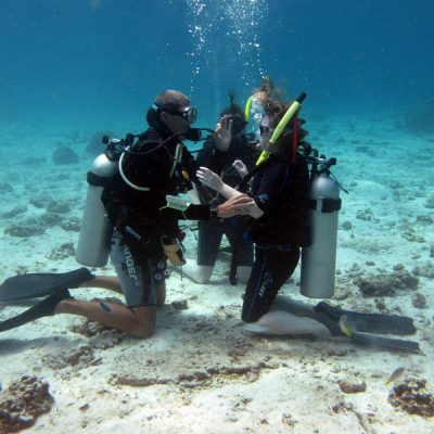 PADI Open Water Diver course by Namloo Divers Phuket